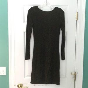 Michael Kors Metallic Cocktail Dress Size XS